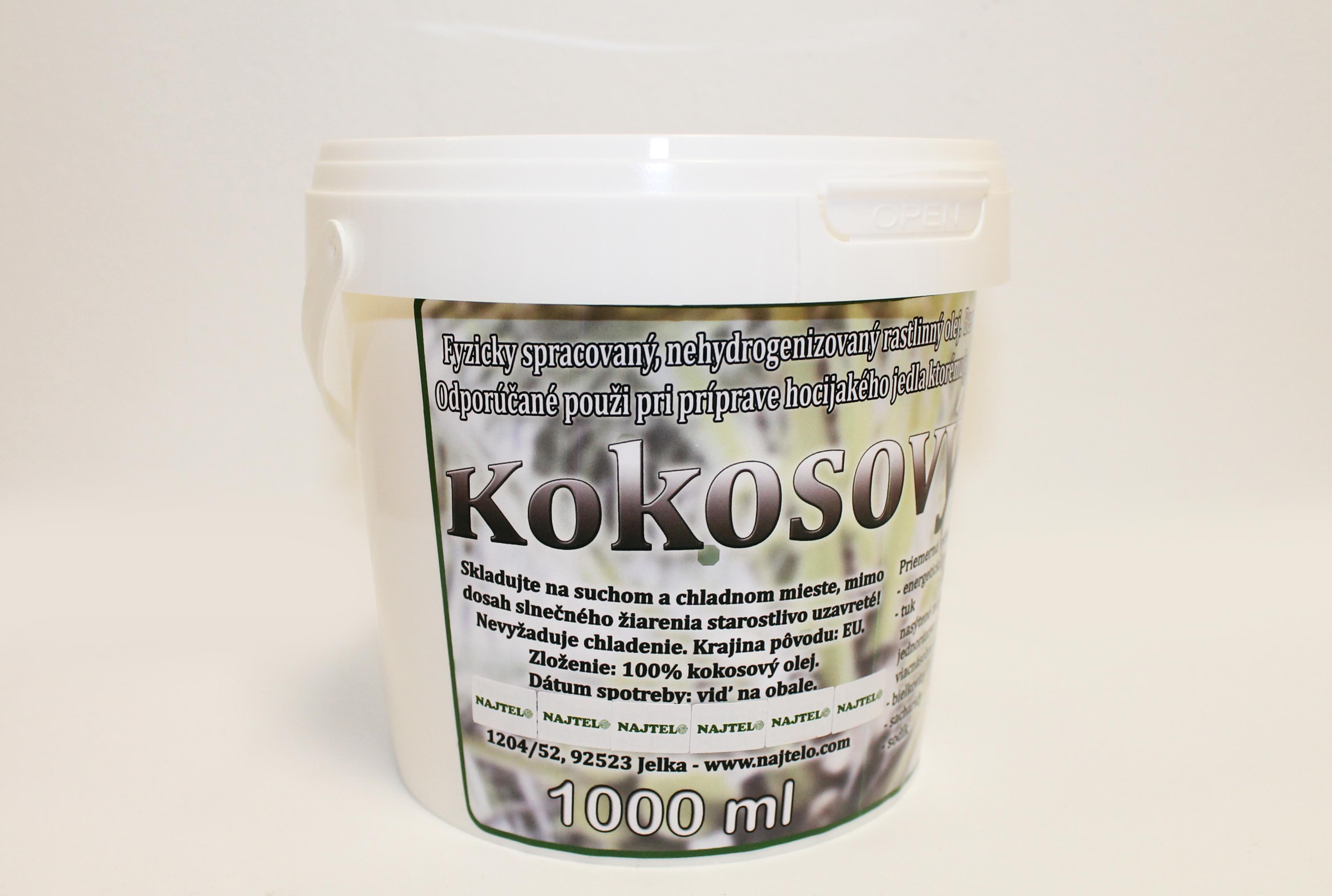 kokosový nehhydrogenizovaný